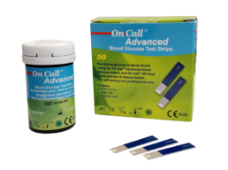 On Call Advanced test strips (50pcs)