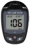 On Call Vivid Blood Glucose meter